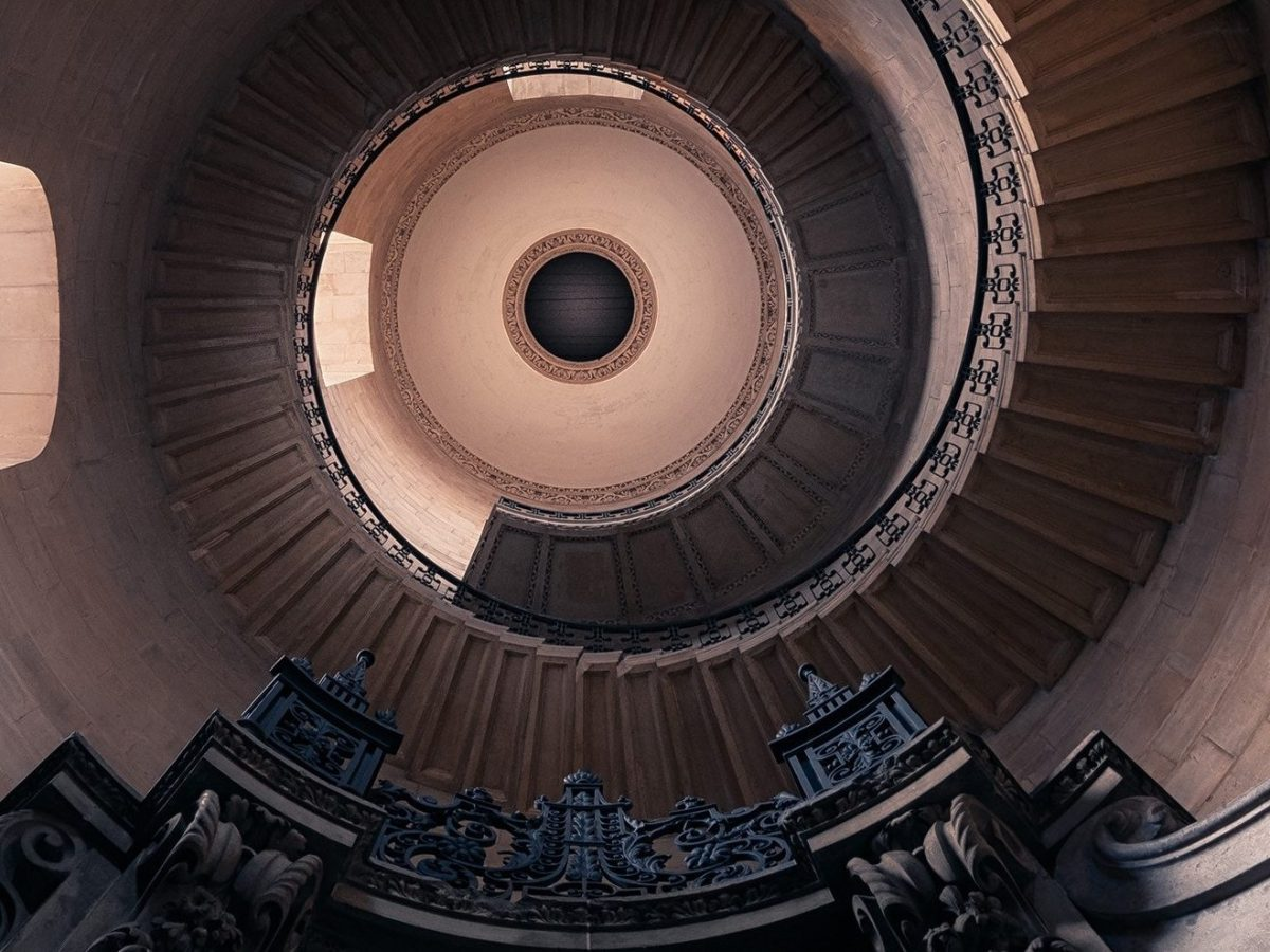 Sprial Stairs up